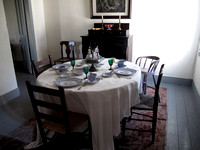 Fort Wilkins Officer's Dining Room